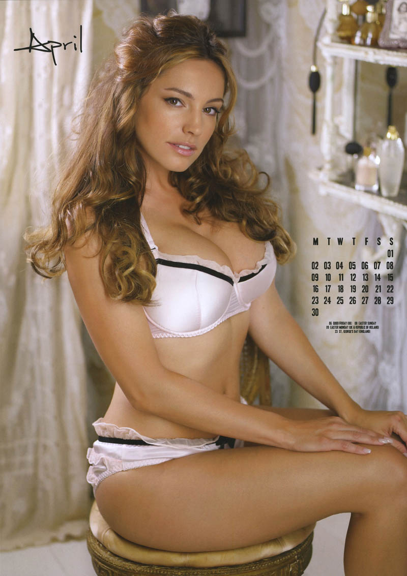 Kelly Brook in Official 2012 Calendar