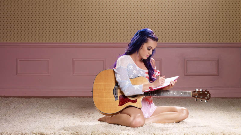 guitar katy perry