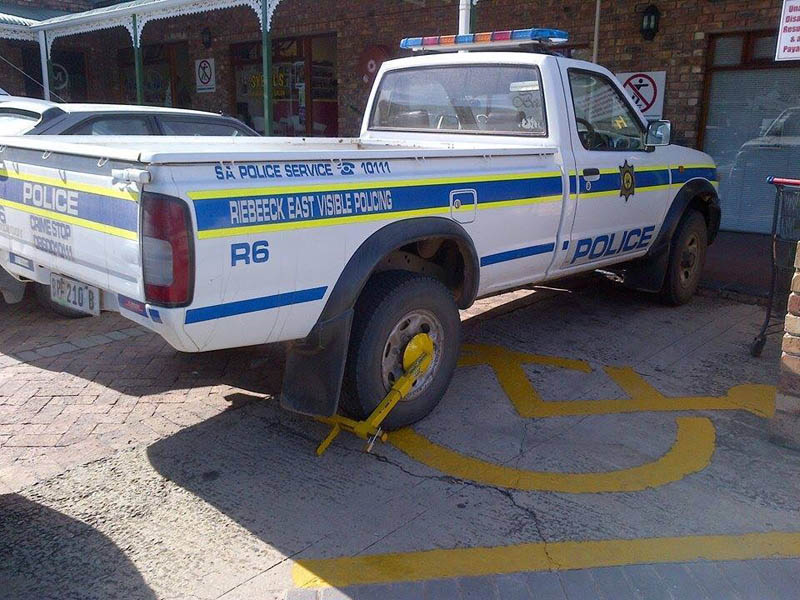 SA cops clamped