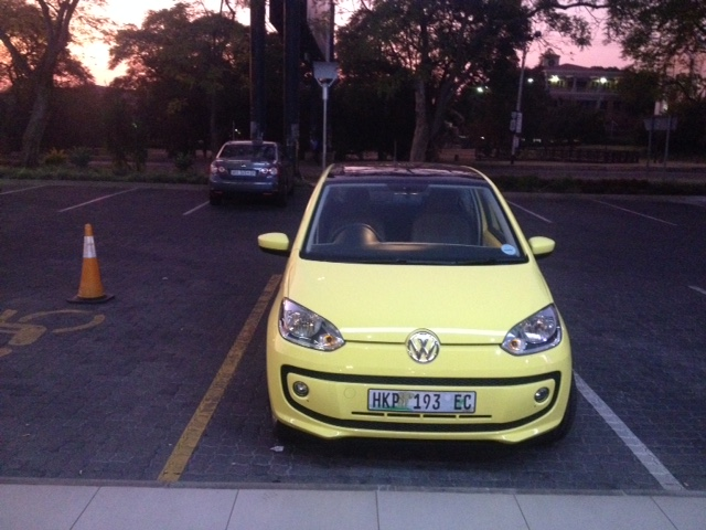 vw up front view