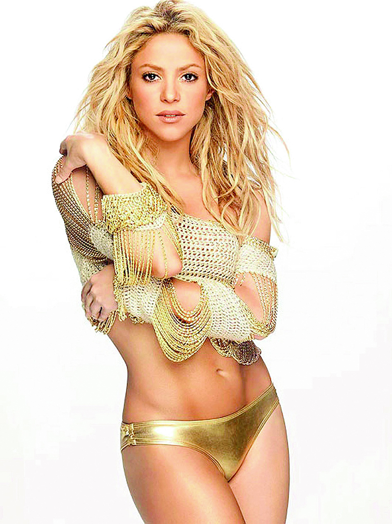 Shakira Bikini Shoot - Los Angeles