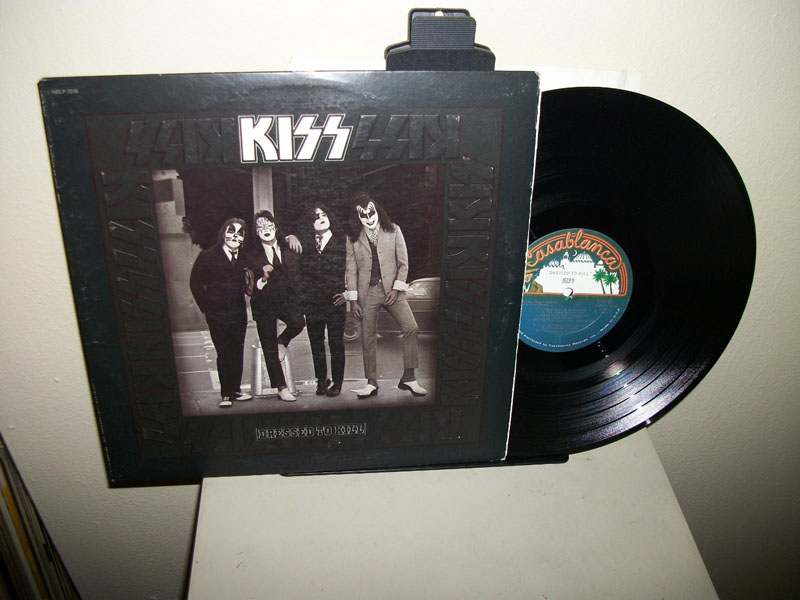 kiss dressed to kill vinyl