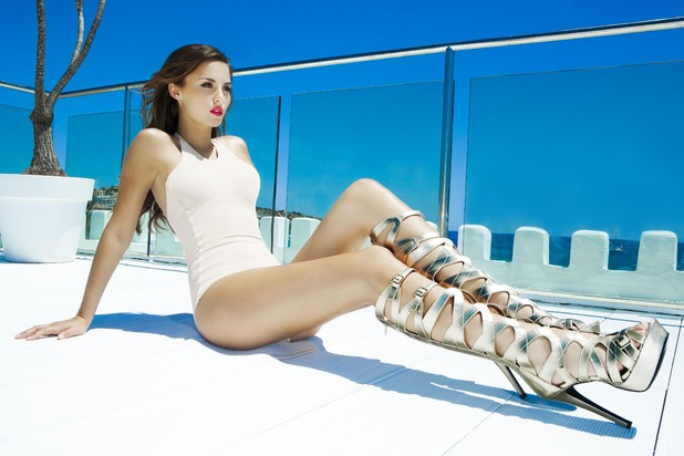 sexy boots op lucy watson