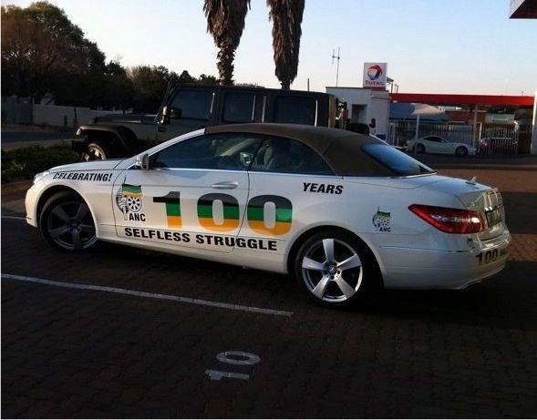 anc 100 years merc bmw
