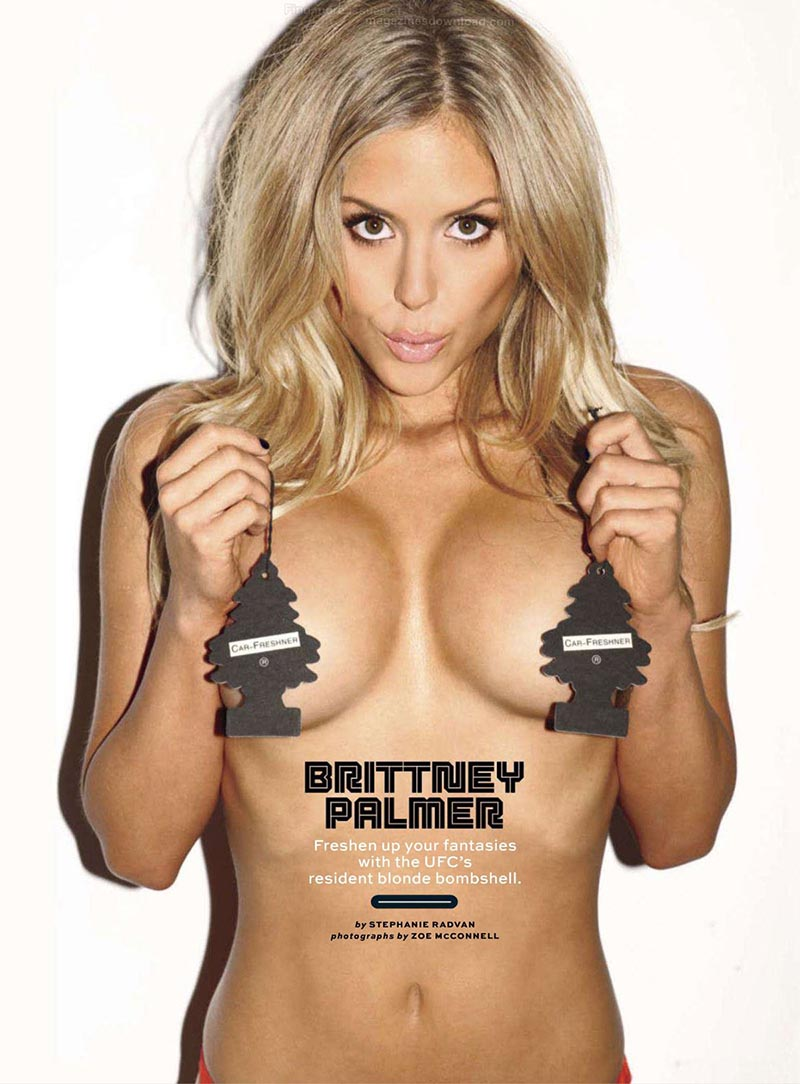 BRITTNEY PALMER in Maxim Magazine, December 2012 Issue