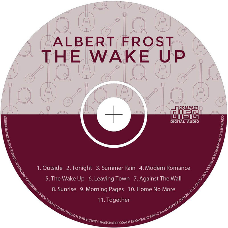 albert frost the wake up album cd
