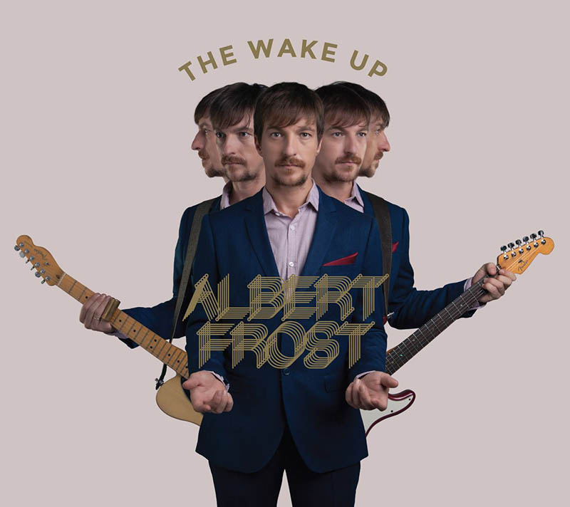 albert frost the wake up album cover front