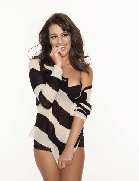 Lea-Michele-lingerie-photoshoot