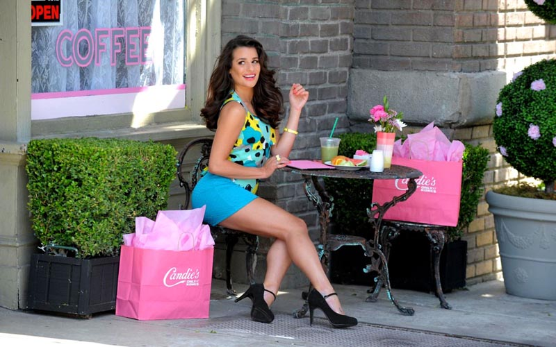 LEA MICHELE at Candie's! Fall 2012 Campaign Photoshoot