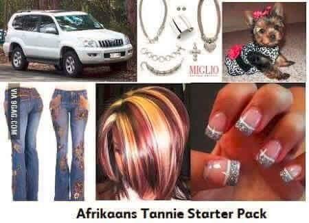 afrikaans tannie starter pack