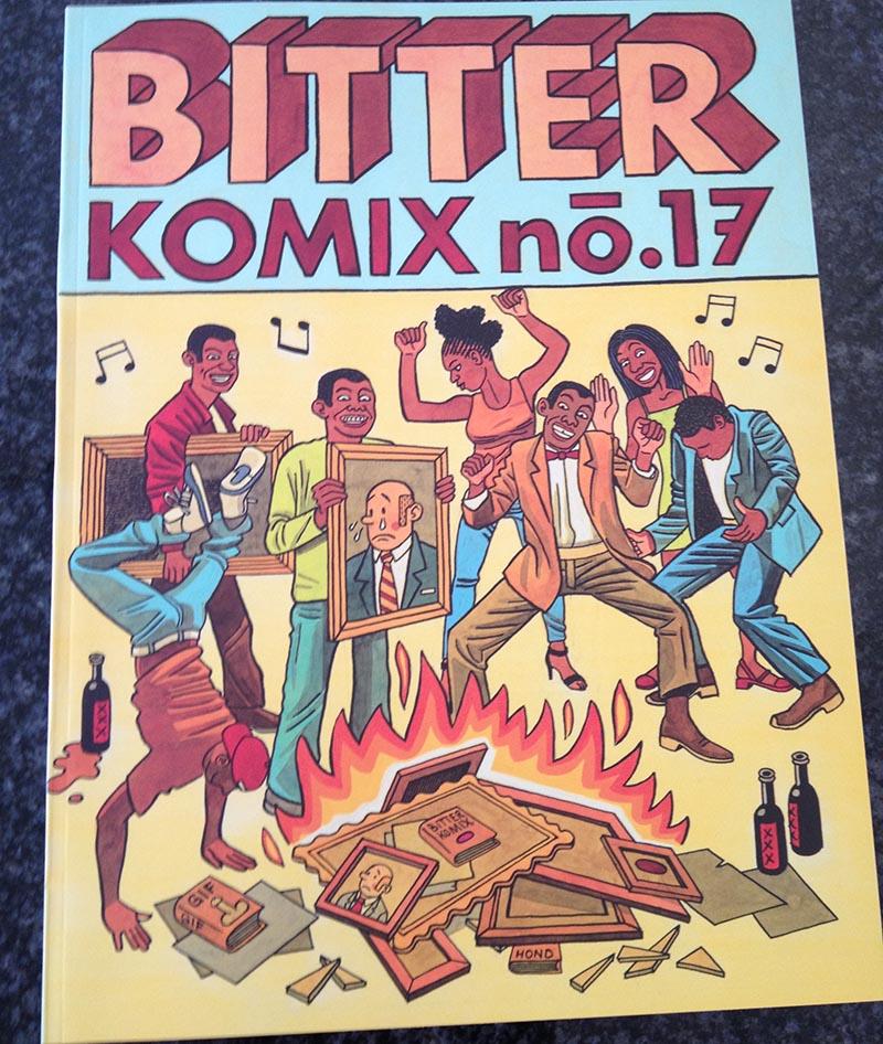 bitterkomix 17 cover