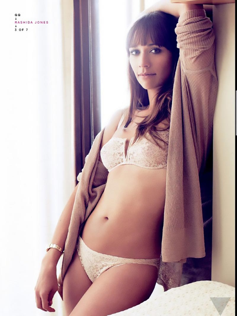 rashida jones underwear