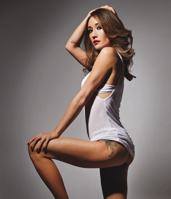 maggie q aweseom ass