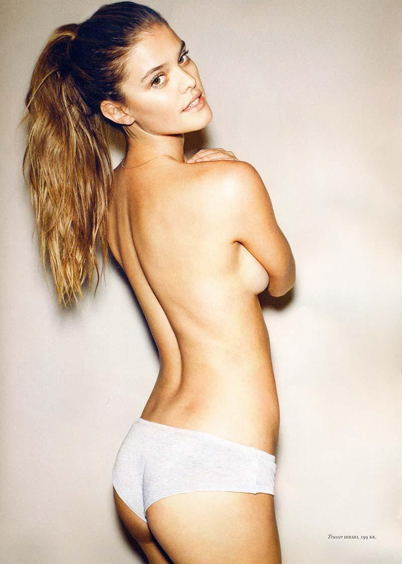 nina-agdal-side-boob-naked