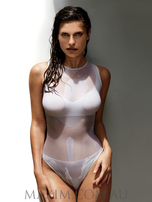 lake-bell-wet-boobs