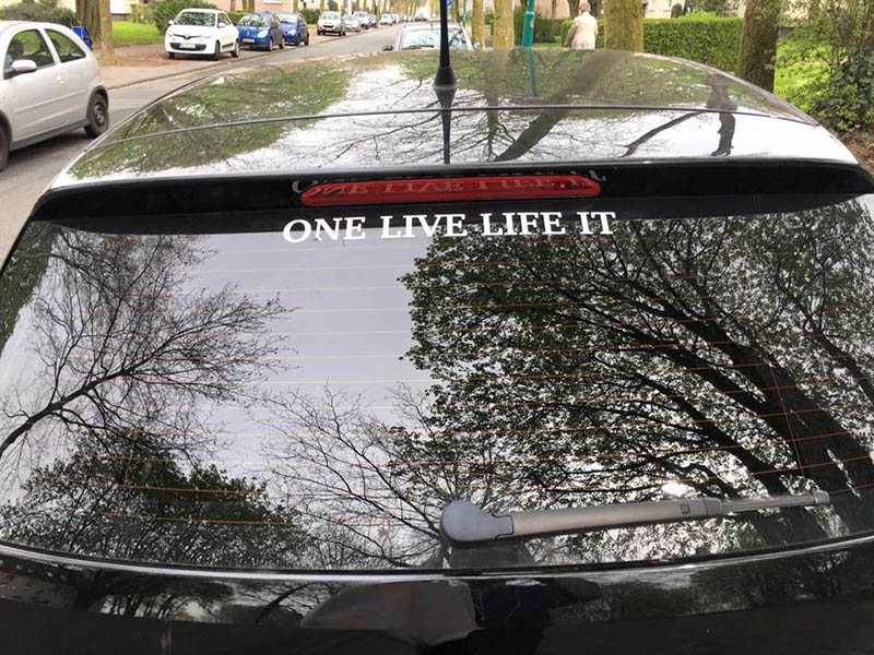 one live life it