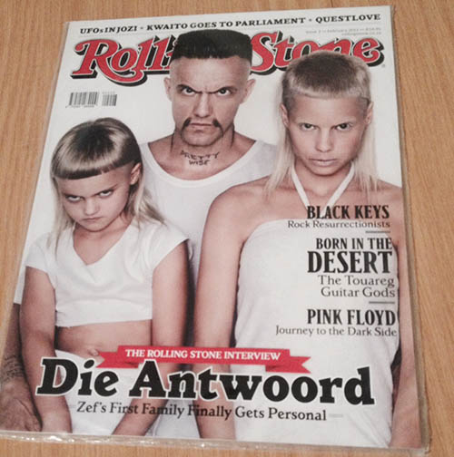 Die Antwoord – very rare and extremely rare merch and